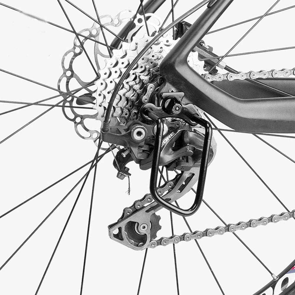 Protecci/ón de Cadena de Marco de Hierro Desviador para Mountain Bike Bici Bicicleta Ciclismo 4 Piezas Bicicleta Cambio Trasero Protector