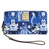 Disney Dooney & Bourke Wallet Wristlet Magic Kingdom 45th Anniversary Bag Purse