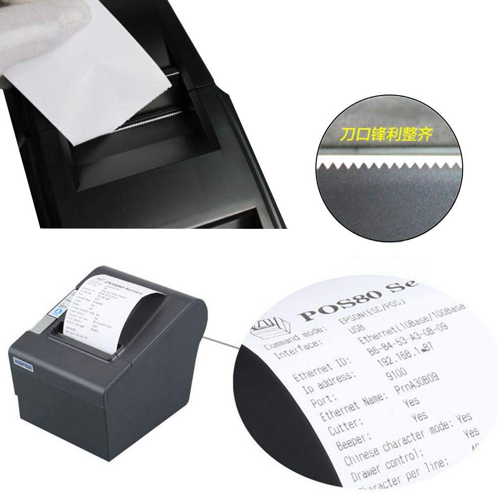 80mm Thermal Receipt POS Printer Windows Driver Auto Cutter with USB Serial Ethernet ESC/POS RJ11 RJ12 by Oshide (Image #5)