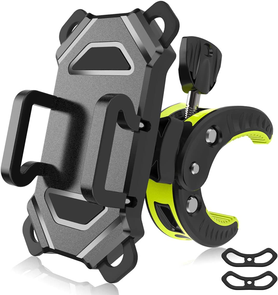 Aluminum Aolly Motorcycle Bike Holder Bicycle Mount Handlebar For Phone Stand US