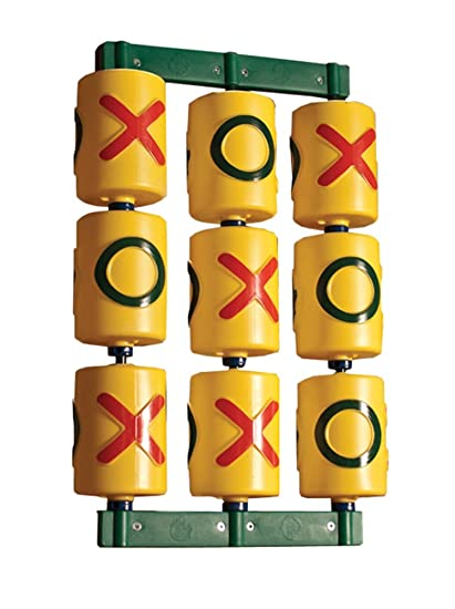 Amazon Com Gorilla Playsets Tic Tac Toe Spinner Yellow Toys Games