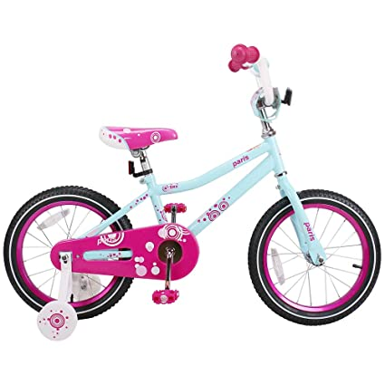 befe7d98bd7459 JOYSTAR 14 Inch Kids Bike for 3 4 5 Years Old Girl, Children Bicycle with