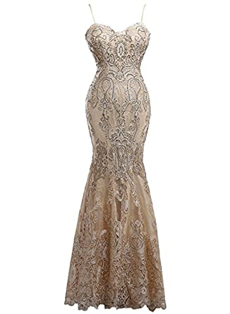 Miao Duo Womens Sequin Off Shoulder Formal Evening Gown Mermaid Prom Dress Bridesmaid at Amazon Womens Clothing store: