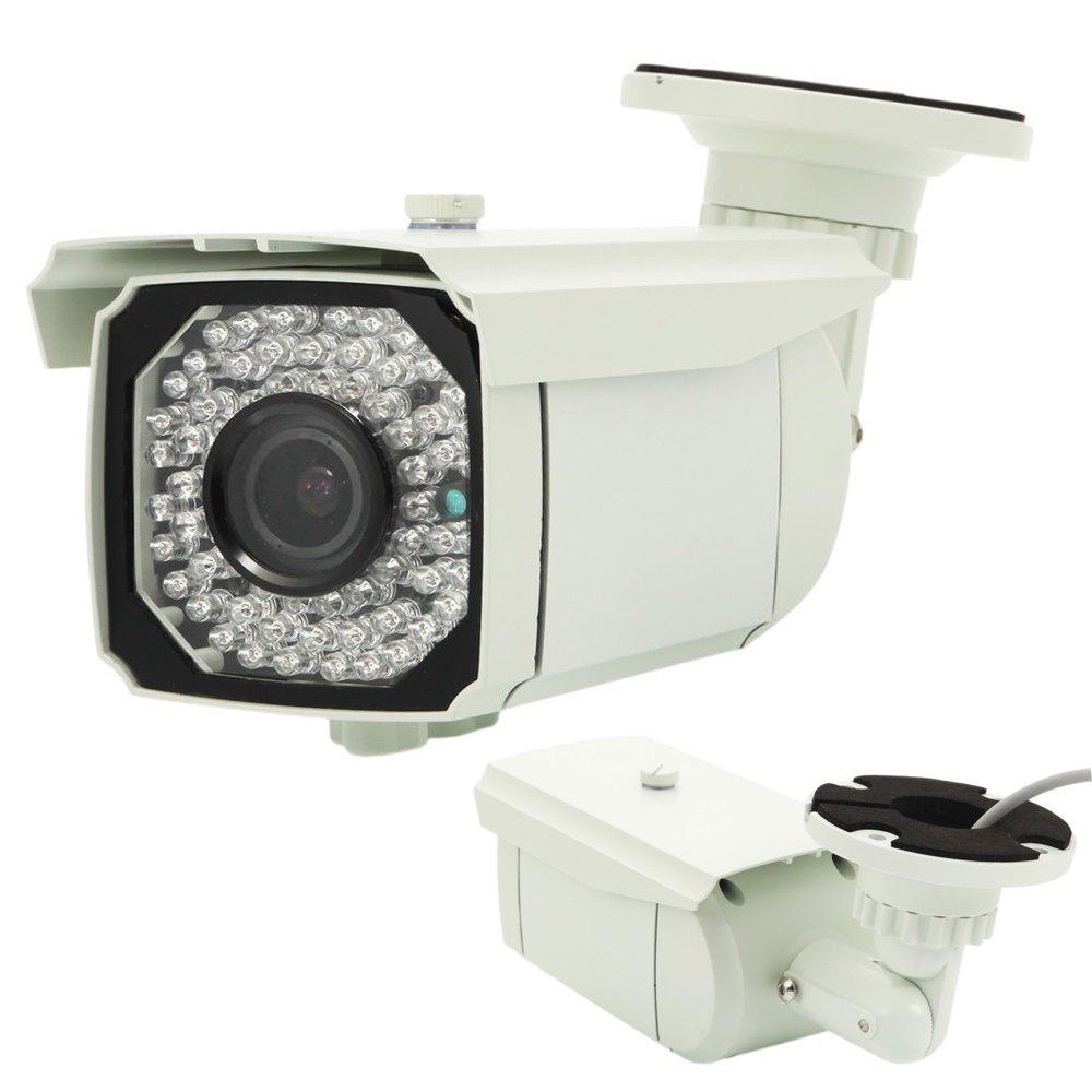 iMeshbean 1300TVL HD 2.8-12mm Zoom IR-Cut IR Home Outdoor CCTV Security Camera System USA