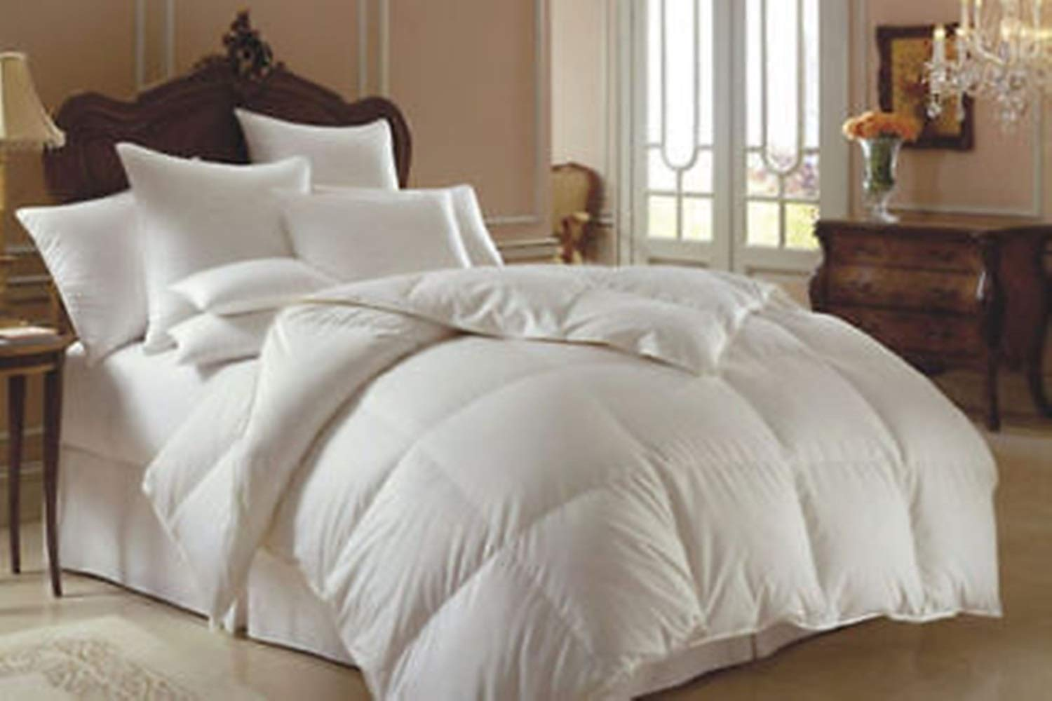 NEW LUXURY HOTEL QUALITY DUCK FEATHER /& DOWN DUVET MACHINE WASHABLE 10.5 TOG