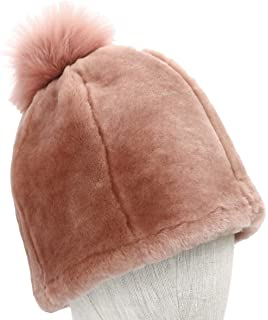264ae92bf5d77 UGG Women s Up Flap Water Resistant Sheepskin Hat Black One Size at ...