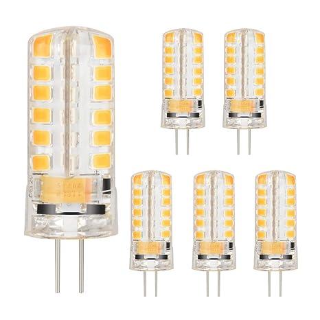 G4 Led Bulb >> 6pc G4 Led Light Bulb Led Bulb Lamps 48 2835 Smd 3w 360 Beam Angle