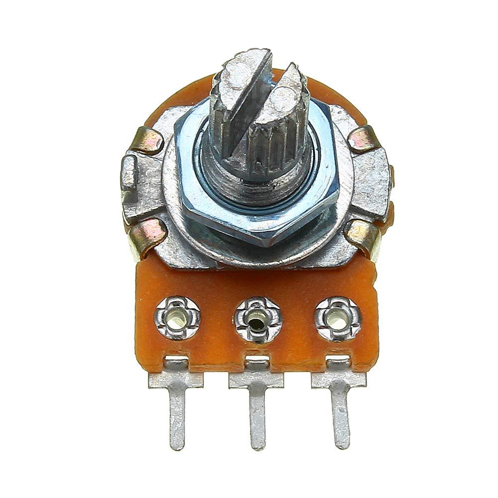 10 pieces 50K Ohm Potentiometer Single Linear ILS