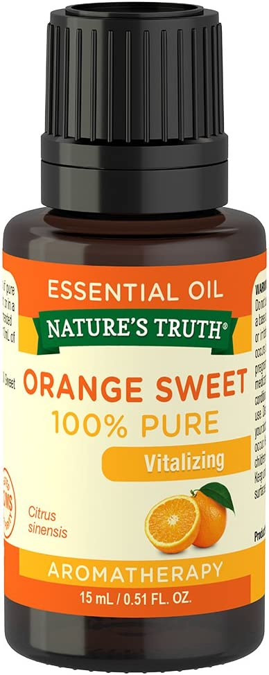 Nature's Truth Vitamins Essential Oil, Orange, 0.51 Fluid Ounce