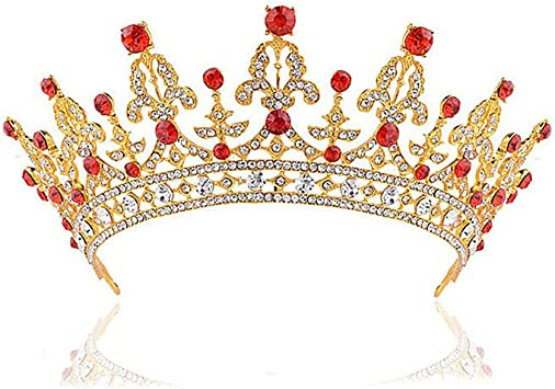 Ihairband Bandeau en Cristal Mode Coiffure Mariage Diad/èmes Headpieces Fille Mari/ée Accessoire Cheveux Cadeaux Festival Diamant Princesse Strass Brillant Enfants Cr/éatifs De Demoiselle