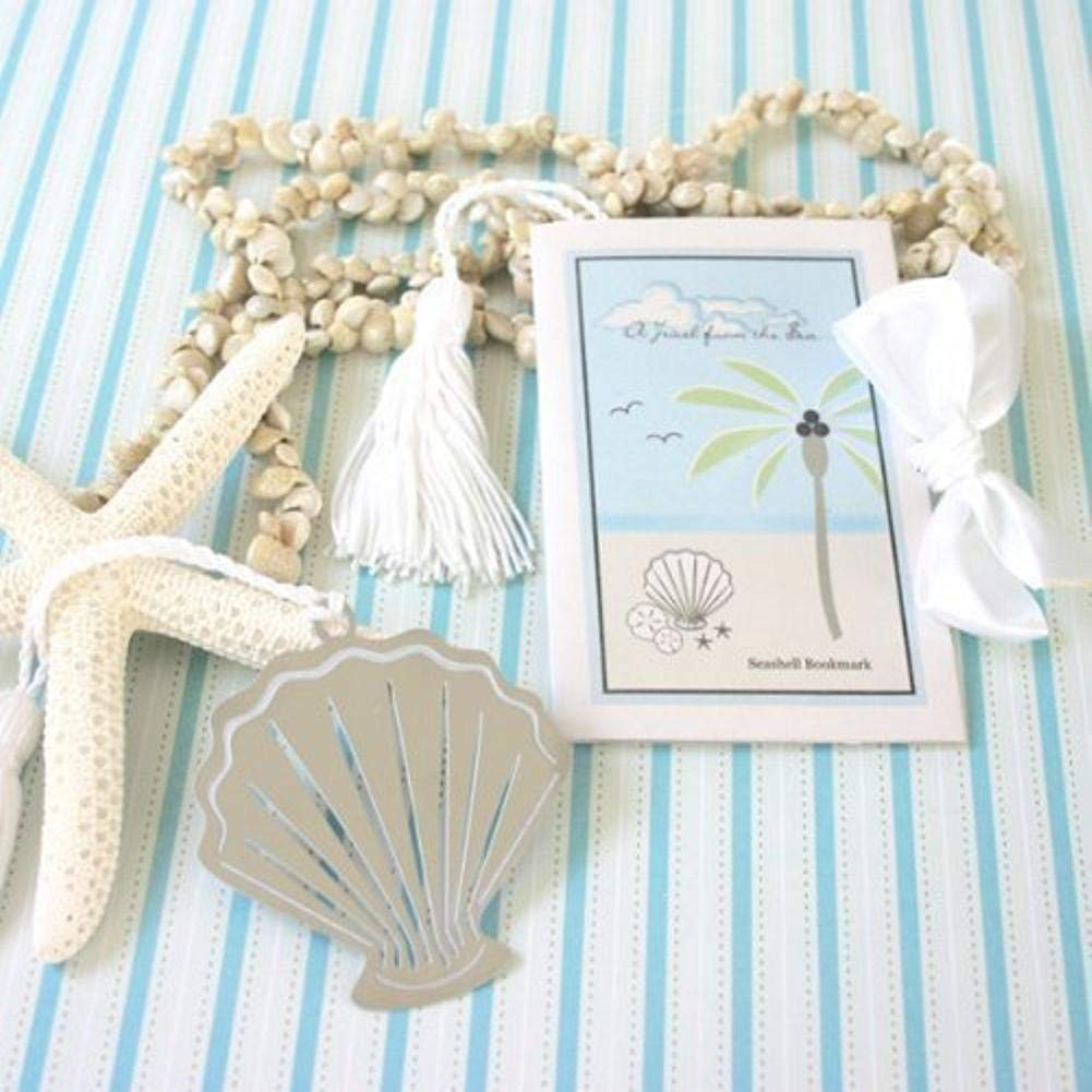 E&B A Jewel from The Sea Seashell Bookmark (Pack of 50)