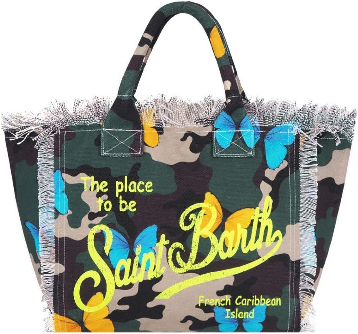 MC2/_VANI001 BUTF54 MC2 Saint Barth Vanity Camouflage Bag Green