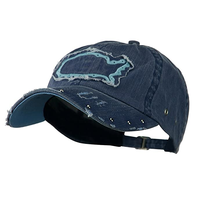 5676bce34299c Image Unavailable. Image not available for. Color  Navy Blue Washed Cotton  Twill Baseball Cap Low Profile ...