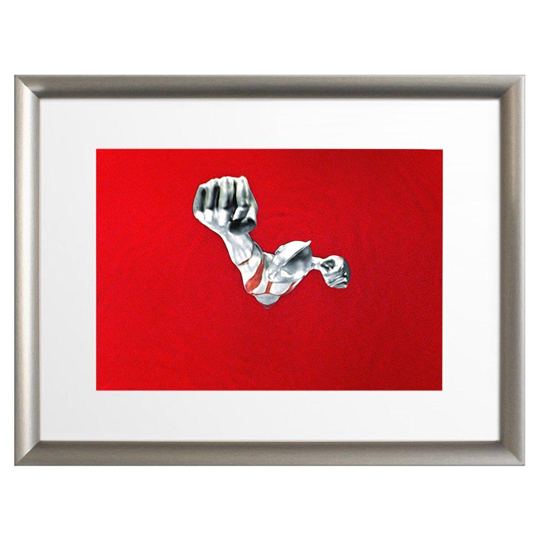 ウルトラ百景 ウルトラマン Best Scene 100 アートポスター (アートフレーム 付) 43×33cm ウルトラマン登場! 9394 B0777GJ9Y8