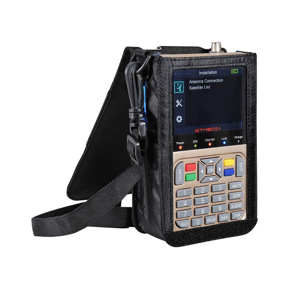 JUSHENG Newest GTMEDIA V8 Finder Digital Satellite TV Signal Finder Meter (V-73HD) DVB-S2 FTA LNB Signal Meter Pointer Satellite TV Receiver Tool with 3.5' LCD by JUSHENG (Image #7)