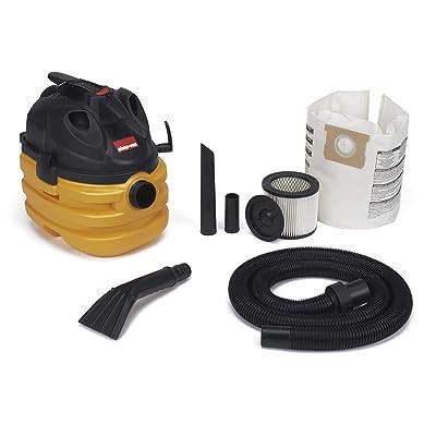 Shop-Vac 5872800 5 gallon 6.0 Peak HP Portable Heavy Duty Wet & Dry Vacuum, Yellow/Black: Home Improvement