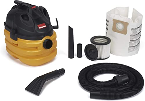 Shop-Vac 5872800 5 gallon 6.0 Peak HP Portable Heavy Duty Wet Dry Vacuum, Yellow Black