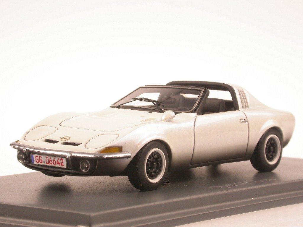 Opel GT Aero weiss Modellauto Neo 1:43