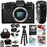 Fujifilm X-T20 Camera Body (Black) and XF 50-140mm f/2.8 R LM OIS WR Lens with Software and 2-Pack NPW126 Battery