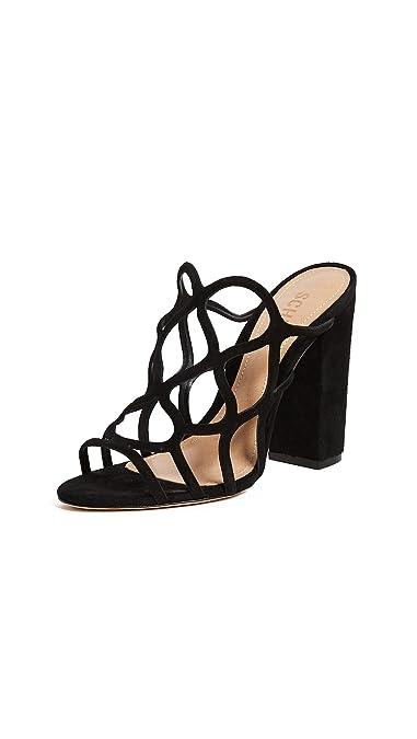b08679e3aa4 Amazon.com  SCHUTZ Women s Nurten Block Heel Mules  Shoes