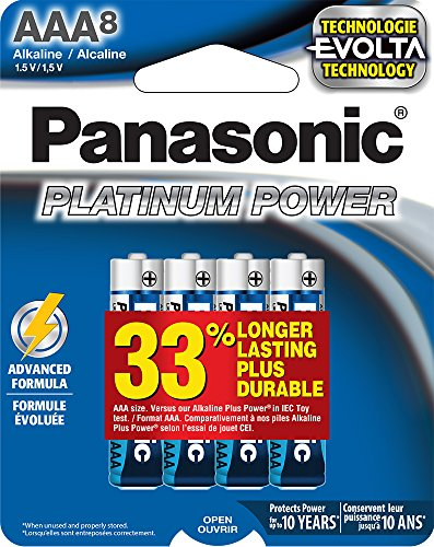 Panasonic Corporation LR03XE 8B Batteries