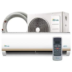 Senville 9000 BTU Mini Split Air Conditioner and Heat Pump SENL-09CD