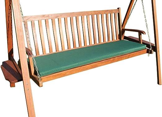Cojín para muebles de jardín - Cojín para banco grande de jardín y ...