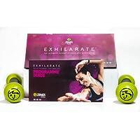 """Zumba Fitness DVD Pack - Producto oficial Zumba - Programa Nuevo completo """"Exhilarate Body Shaping System"""" en Español, Inglés y Alemán. - 8 sesiones en 7 DVD's y pesas de tonificación de regalo."""