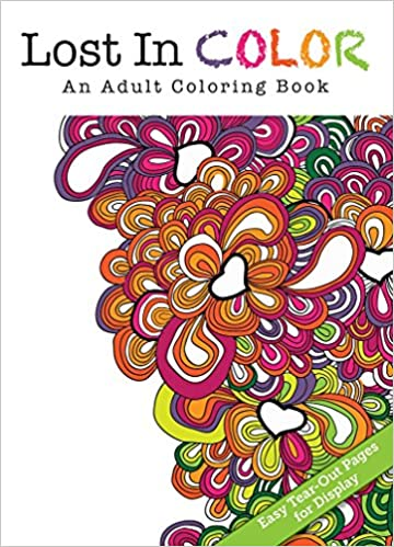 Lost In Color Orange An Adult Coloring Book Flowerpot Press 9781486710164 Books