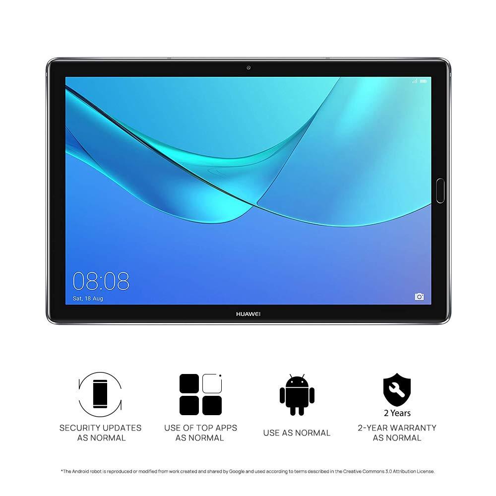 "Huawei Mediapad M5 10"" Tablet(Grey) - (Octa-Core Processor, 4 GB RAM, 32 GB  eMMC, 2K IPS Screen,Android 8 0)"