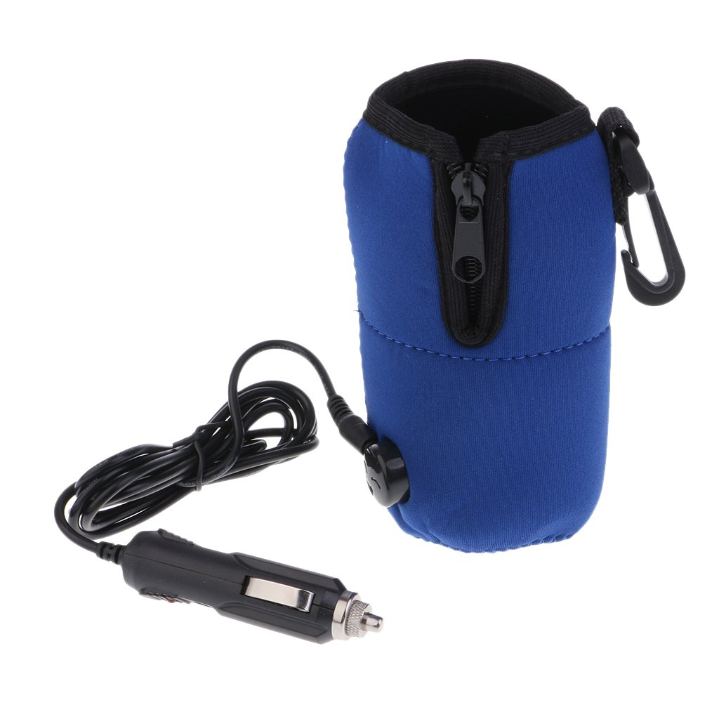 Dolity Milk Drink Food Warmer 12V With Clip and USB Cord Easy Use and Carry