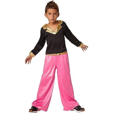 dressforfun 900498 - Disfraz de Niño Disco Dancer Colorido Traje de Dos Piezas (116 | no. 302382): Amazon.es: Productos para mascotas