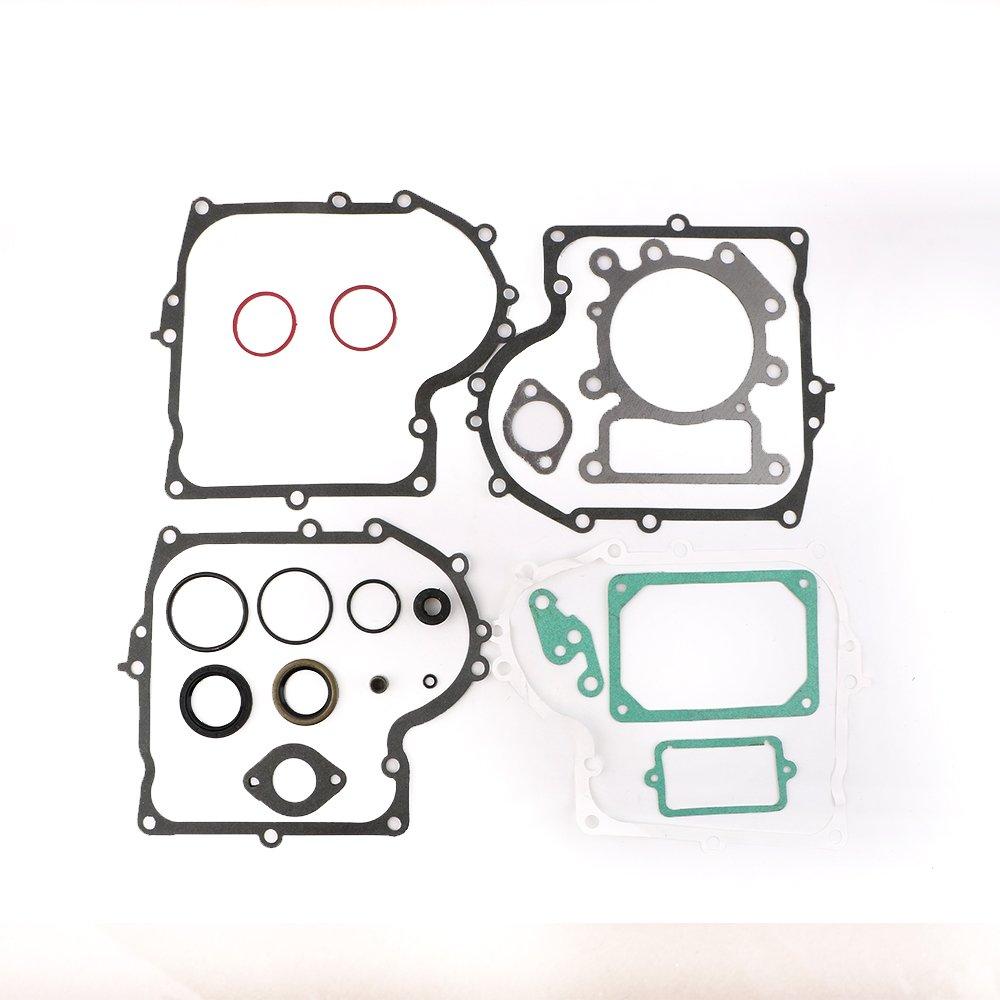 New Gasket Kit Set for Briggs & Stratton 690189 Engine Overhaul Rebuild Refresh By Mopasen