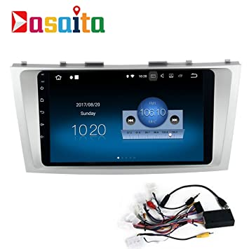 Dasaita Android 7 1 Car Stereo for Toyota Camry 2012 2013 2014 GPS  Navigation Radio with 10 2 Inch