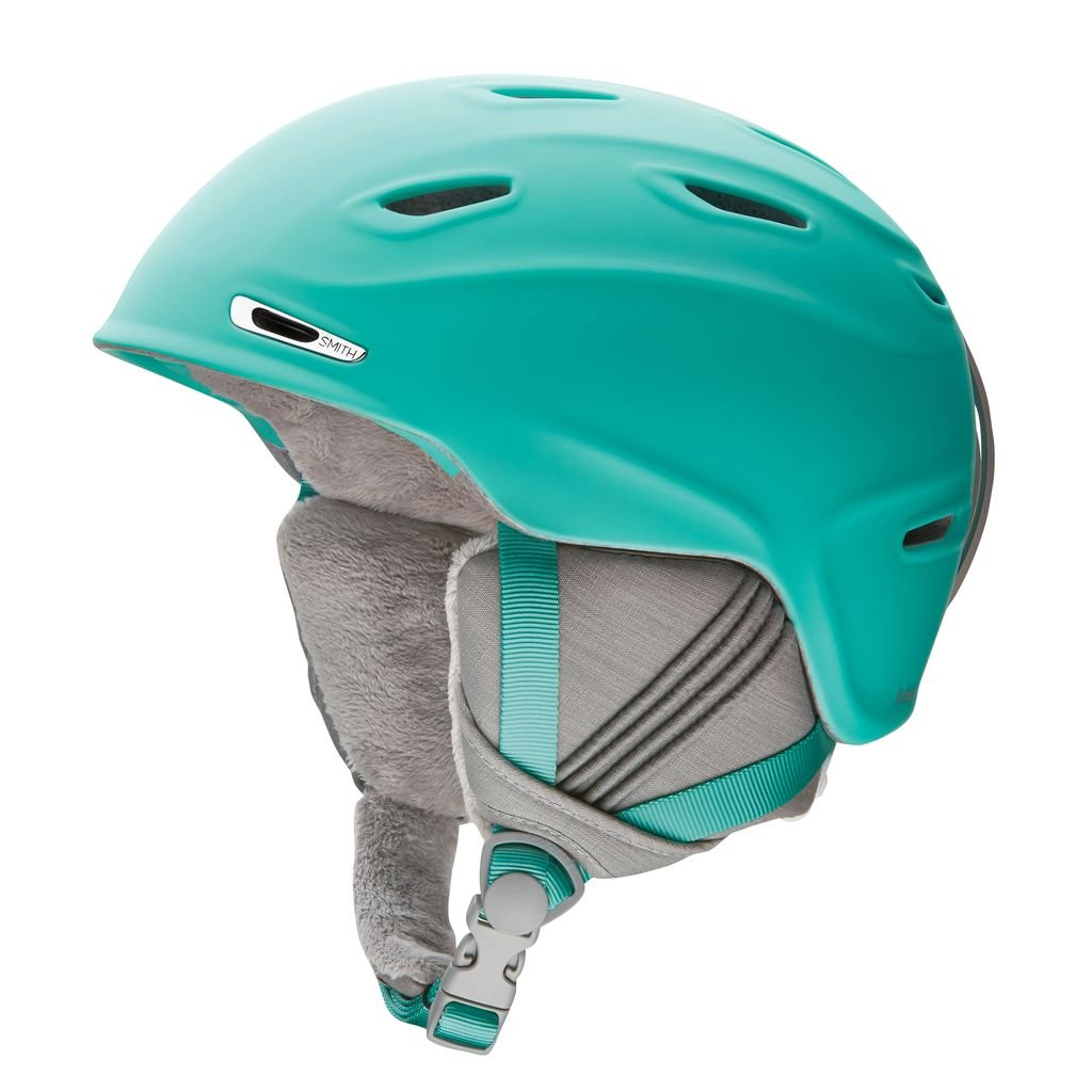 Smith Optics Arrival Adult Ski Snowmobile Helmet - Matte Opal / Large by Smith Optics