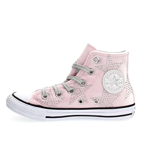 19a77ebb5fba CONVERSE 658881C CT AS HI VELVET STARS SNEAKERS Girls PINK 36   Amazon.co.uk  Shoes   Bags