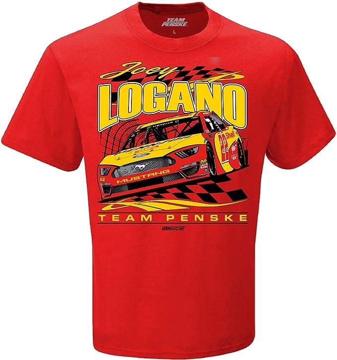 22 Joey Logano NASCAR T-shirts