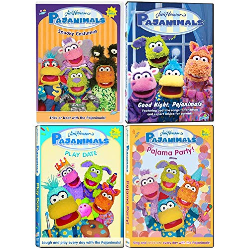 Jim Henson's Pajanimals: TV Series DVD Collection - Episodes + Songs + More!]()