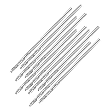 4.9mm helical drill High speed steel drill HSS-4241 for steel aluminum alloy 10 pieces