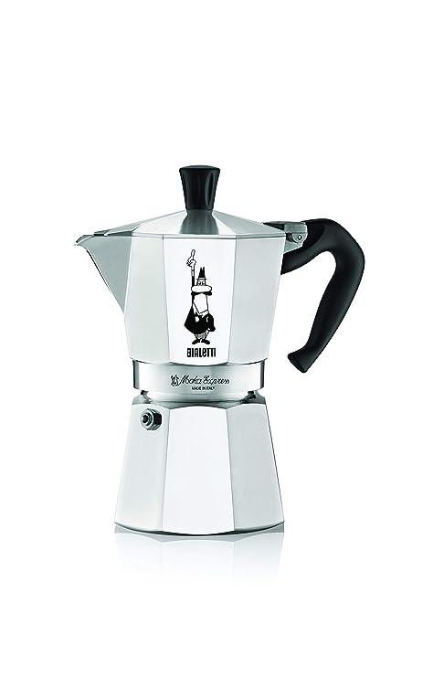 Bialetti Moka Cafetera de 4 Tazas, Aluminio: Amazon.es: Hogar
