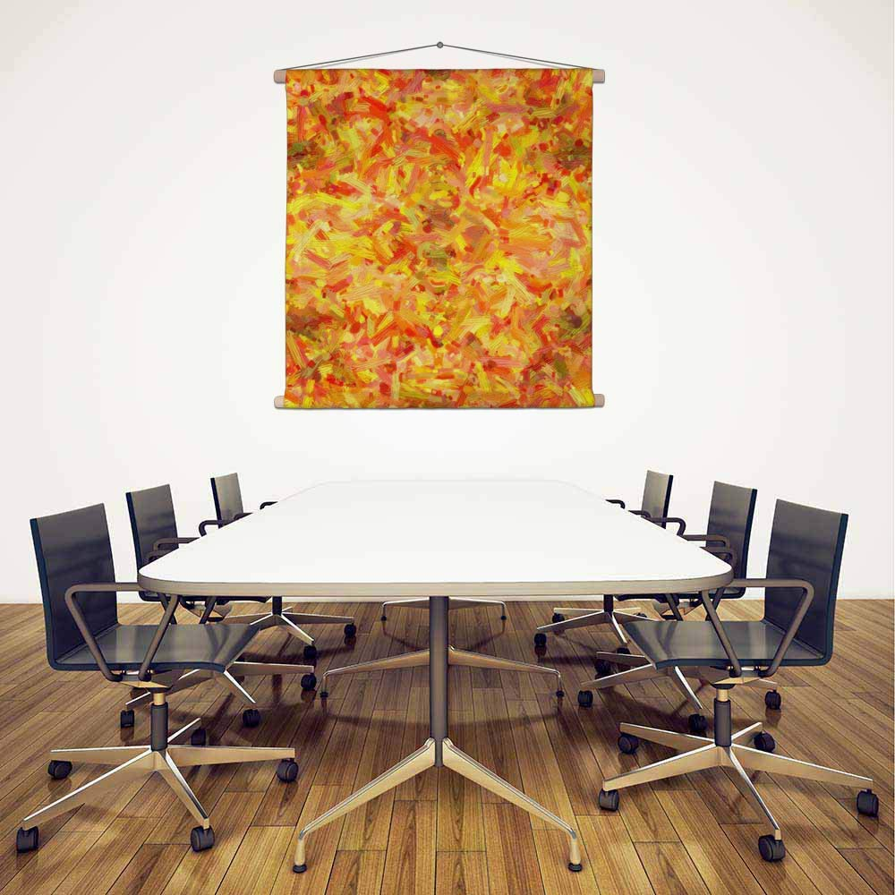 ArtzFolio Abstract Artwork 73 Canvas Canvas Canvas Painting Tapestry Wall Hanging 24 X 24.3Inch 9025d2