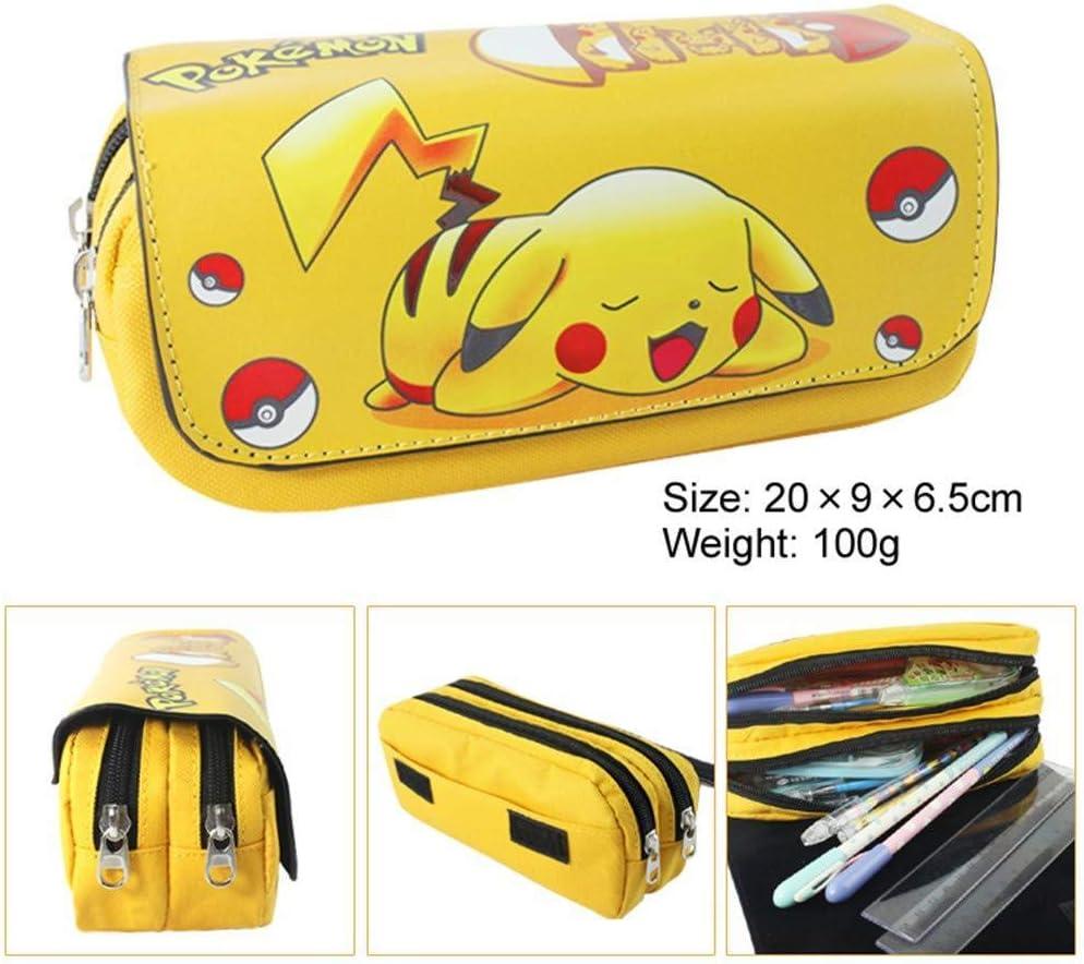 Pokemon Balls Fabric Pencil Pouch Purse