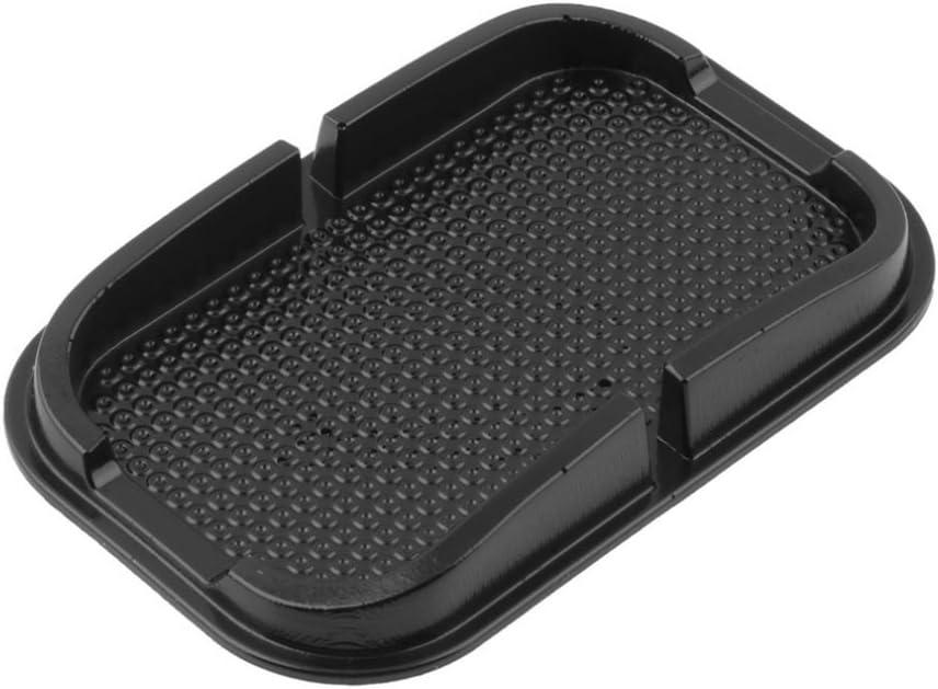 WINOMO multifuncional de goma antideslizante coche salpicadero antideslizante STUOIA Magia Sticky Pad para navegación Teléfono Móvil (negro): Amazon.es: Electrónica