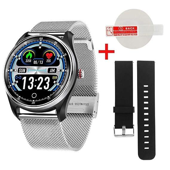 Relojes Inteligentes Mx9 Smart Watch Blood Pressure Heart ...