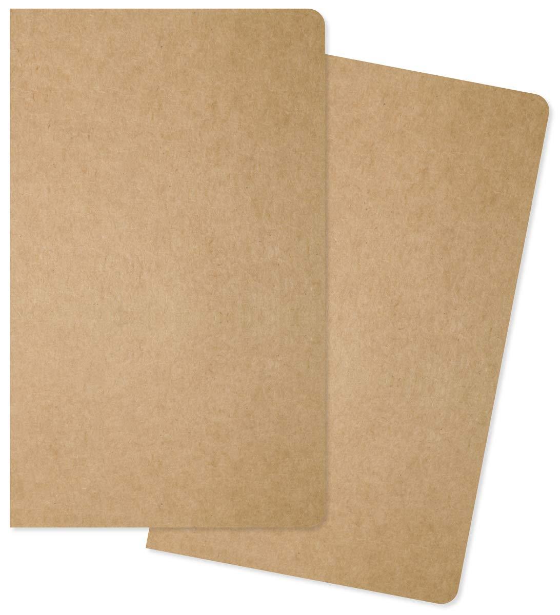 Carpe Diem Traveler's Notebook Insert Simple Stories TN Planner Refill, Pack of 2 (10205)