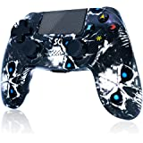 Wireless Controller for PS4,Skull Design High Performance Double Vibration Controller Compatible with Playstation 4 /Pro/Slim