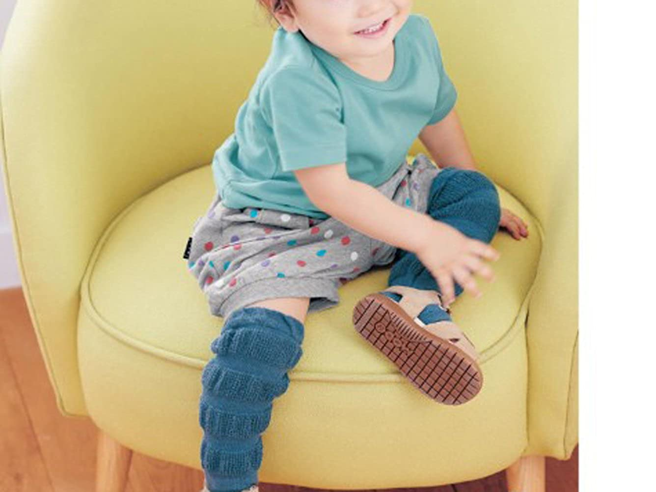 Set of 6 Baby /& Toddler Leg Warmer Collection Kneepads Gift for Boys /& Girls