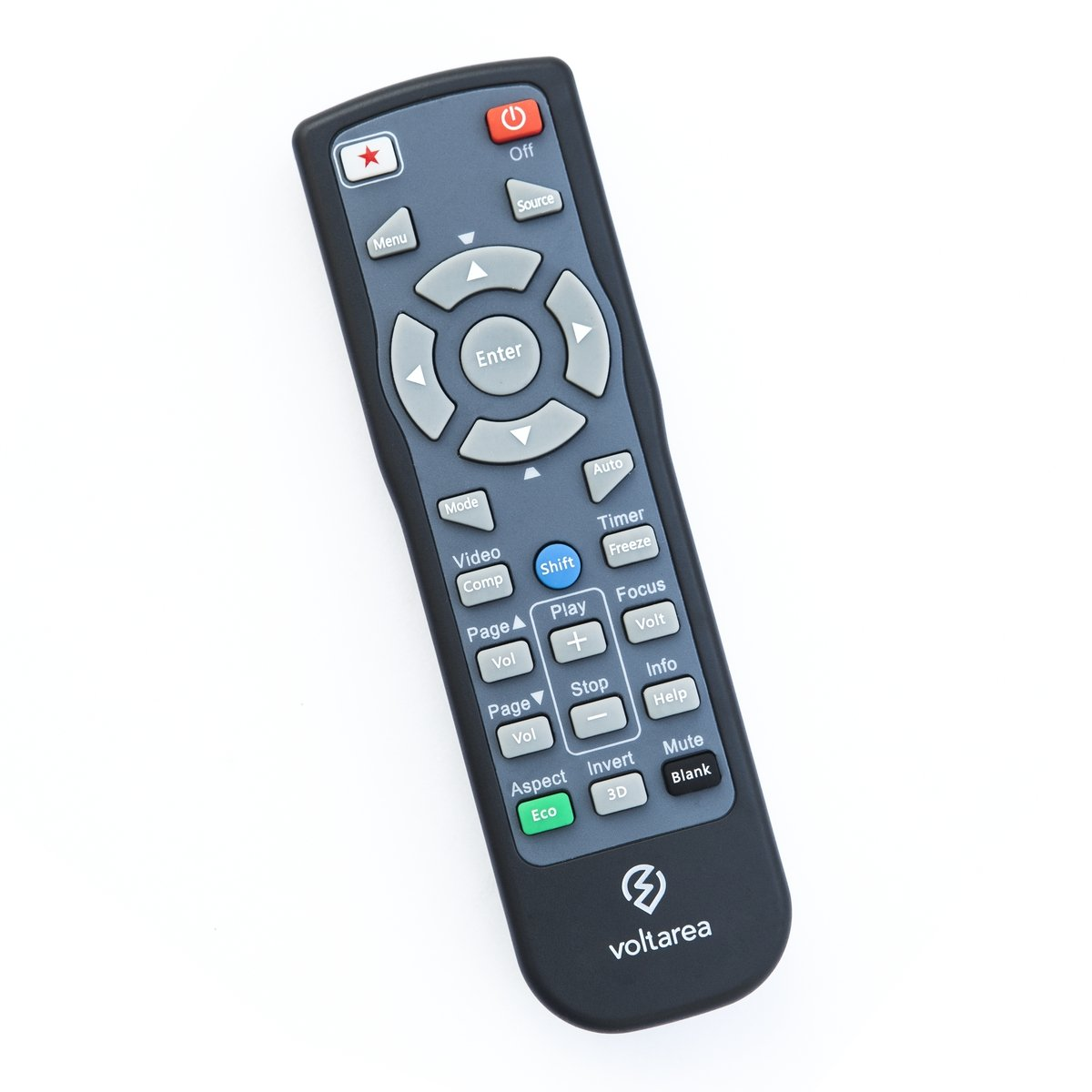 Remote Control for Casio XJ-F10X Projector with Laser Pointer