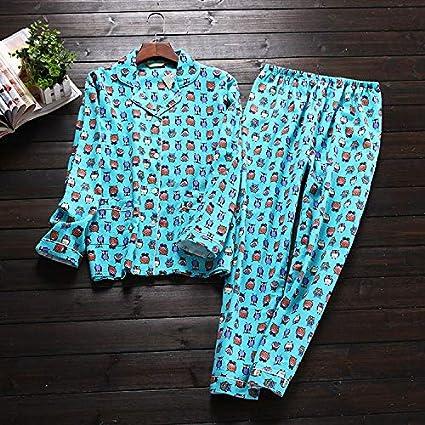 ee17d1e5a Image Unavailable. Image not available for. Color: Taco Mocho Korea Cute  Cartoon 100% Cotton Pyjamas Women Pajamas Sets ...