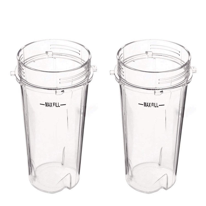 16oz Blender Cup for Ninja Replacement Parts Single Serve Cup Fit Nutri Ninja Series BL770 BL780 BL660 BL740 BL810 Blenders